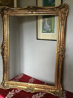 Stunning Antique Style Large French Swept Gilt/Gold Picture Frame #5722