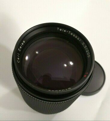 Carl Zeiss Tele-Tessar 200mm f3.5 Contax CY Made in Germany