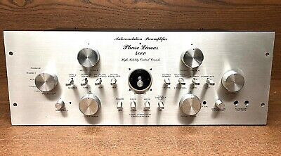 Phase Linear 4000 Preamplifier (clean)