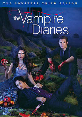 The Vampire Diaries: The Complete Third Season (DVD, 2012, 5-Disc Set)