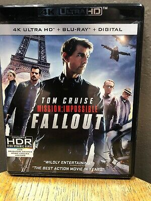 Mission: Impossible Fallout (4K Ultra HD + Blu Ray, 2018) Tom Cruise