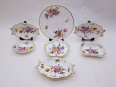 Collection of Royal Crown Derby Posies Trinkets, Side Plate 1st Quality 1979-83