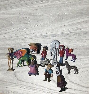 Spirit Guide Disney Coco Movie Figure Set Of 15 Kit With