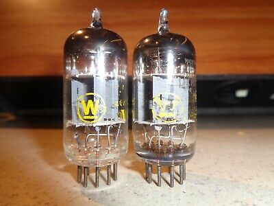 Pair Westinghouse 12AX7 Tubes - new NOS