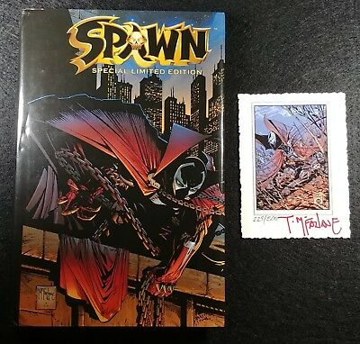 Spawn Special Edition w Print Signed by McFarlane! ONLY 500 MADE EVER! (Not 300)