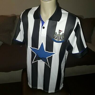 online store e6302 4f272 NEWCASTLE UNITED FOOTBALL Top / Official Retro - size large ...