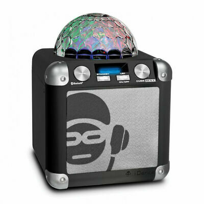 Idance Bluetooth 40W Speaker Karaoke Sound System Party Cube With Mic Rrp£69