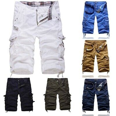 Workout Baggy Military Men Shorts Pants Army Cotton Outdoor Camping Combat Cargo