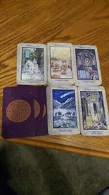 Tarot Deck Clean No Box No Instructions 78 Cards Crisp