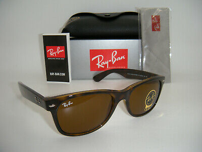 New Authentic Ray-Ban RB2132 710 55mm Light Havana Frame Brown Gradient