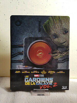 Gardiens de la galaxie 2 steelbook Fnac Bluray 3D guardians galaxy