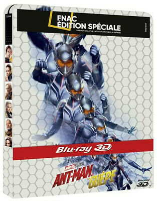Ant-man et la guêpe steelbook Fnac Bluray 3D + 2D ant-man and the wasp