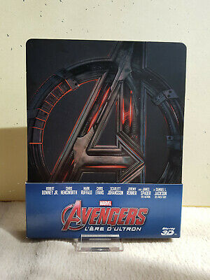 Avengers L'ère d'Ultron Steelbook Fnac Bluray 2D/3D age of ultron