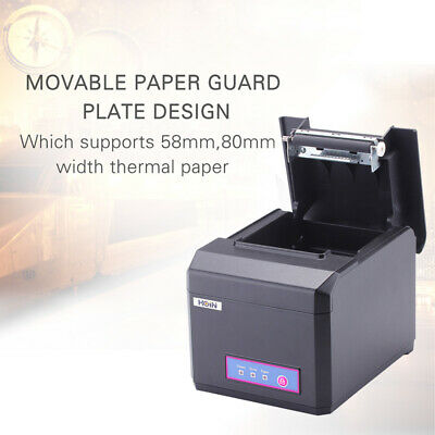 USB POS RECEIPT Thermal Printer with 80mm Paper Rolls High