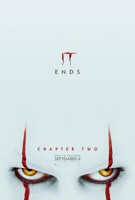 It:Chapter Two (2019) (DS) LARGE MOVIE POSTER 27X40-James McAvoy, Finn Wolfhard