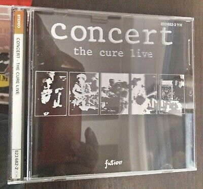 The Cure – Concert - The Cure Live CD Germany Issue Fiction Records – 823 682