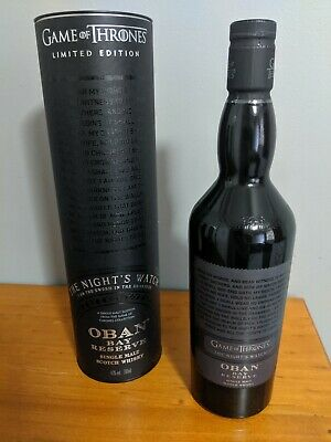 Game of Thrones Single Malt Night's Watch Oban