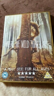Where The Wild Things Are - Dvd -Pg Cert