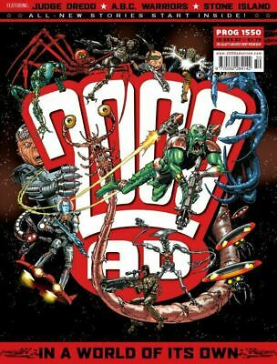 2000AD Prog 1550 - 1559. A.B.C. Warriors The Volgan War V2  All 10 Judge Dredd