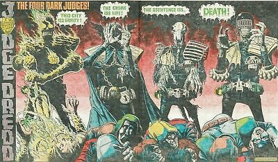 2000AD Prog 226 - 1st Appearance Dark Judges. Death Lives. Pt 3 of 4 Judge Dredd