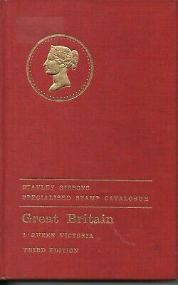 Stanley Gibbons Specialised Stamp Catalogue-Queen Victoria Vol 1-3rd Edition-70-