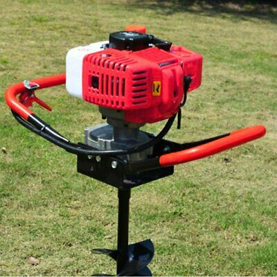 52cc 2.85HP Gas Power Earth Post Hole Planting Auger Digger Machine w/ EPA TO