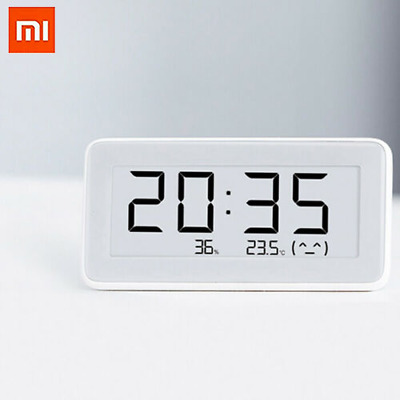 "Xiaomi 3.7"" Smart Home Digital Temperature Humidity Monitoring Meter Thermometer"