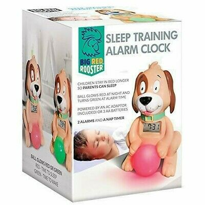 Big Red Rooster Sleep Training Alarm Clock For Kids - Stock in Sydney