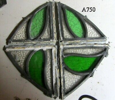 A750    Stained Glass Ca 1930s