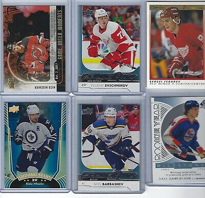 2017-18 UPPER DECK YOUNG GUNS Rookie Evgeny Svechnikov # 224 Detroit Red Wings