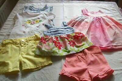 Baby girls clothes Lemon Kiss/F&F size 12m/12-18m -combined postage available