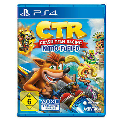 CTR Crash Team Racing Nitro Fueled PS4 Neuwertig