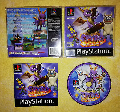 Spyro Year Of The Dragon PlayStation PS1 PAL Black Label Game Boxed & Complete