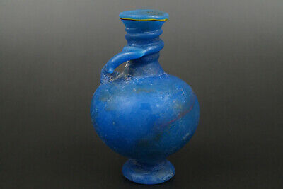 A Fine Collection of Ancient Roman Glass Bottle Pot #21