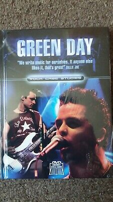Green Day Rock Case Studies DVD + Book NEW SEALED