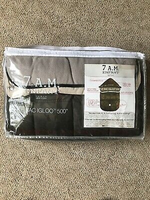 Brand New!!!7AM Enfant Le Sac Igloo 500 Stroller Winter Baby Cover  - Brown