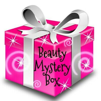 Beauty & Body Box Gift Mystery Bundle of Products Nail Skincare Haircare Makeup