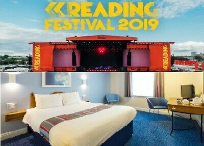 Reading Festival - Travelodge Twin Room Reading Whitley 23rd -24th August