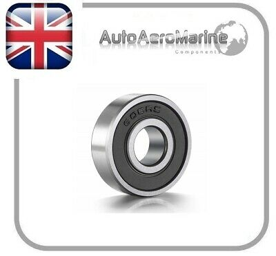 608RS/ 608-2RS 8mm x 22mm x 7mm Rubber Shielded Deep Groove Ball Bearing