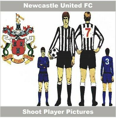 Shoot Football Magazine Single Player Pictures Newcastle United – Various