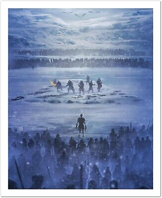 Andy Fairhurst Game of Thrones Beyond the Wall /530 Bottleneck Gallery Not Mondo
