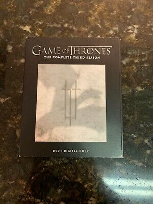 Game Of Thrones: The Complete Third Season 3rd 2-Disc Set DVD VIDEO MOVIE show