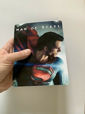 MAN OF STEEL  Magnet cover for Steelbook (NO LENTICULAR)