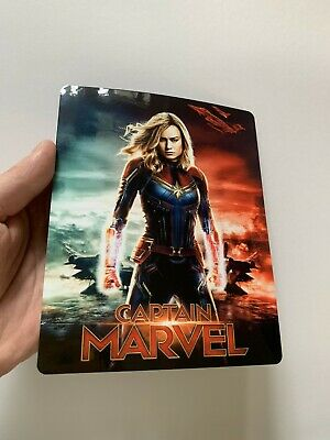 CAPTAIN MARVEL Magnet cover for Steelbook (NO LENTICULAR)