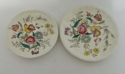 Spode China Made in England Gainesborough 1 Bread & Butter Plate 1 Saucer Floral