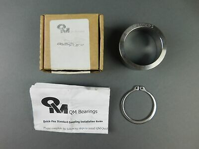 *NEW* QM Bearings QF5S803COVER Quick Flex Flange Cover - NEW Surplus!