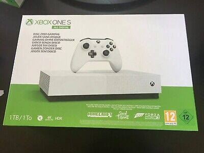 Microsoft Xbox One S 1 TB Console + Minecraft Sea Of Thieves Forza Horizon 3