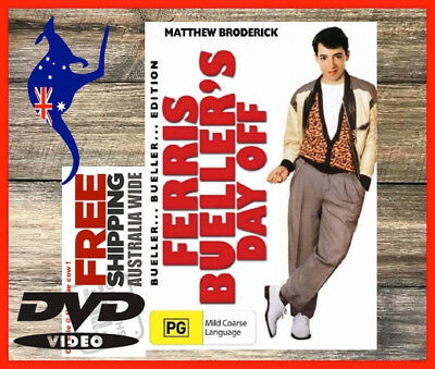 Ferris Bueller's Day Off DVD Exc. Cond + FREE Postage!