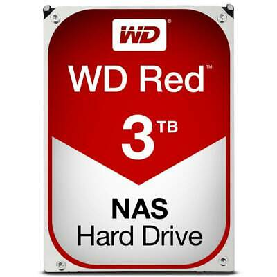 "`Western Digital WD Red 3 TB Internal 5400 RPM 3.5"""" Hard Drive -WD30EFRX NAS..."