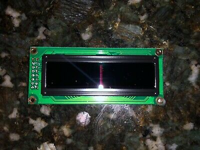 16x2 Green Sunlight Readable Character OLED   2x7 Pin Header CFAL1602CGT Display